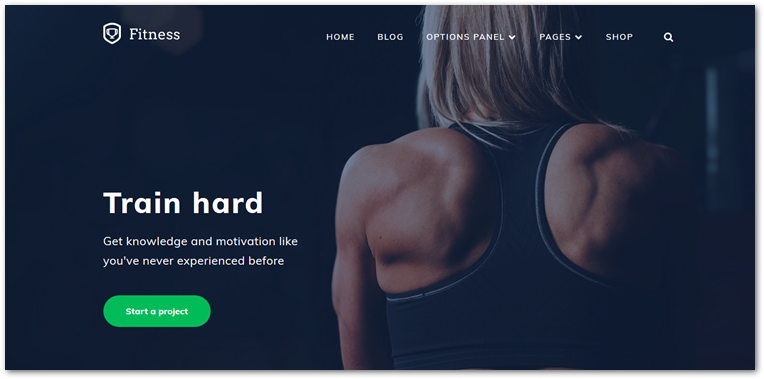 Fitness Theme from MyThemeShop