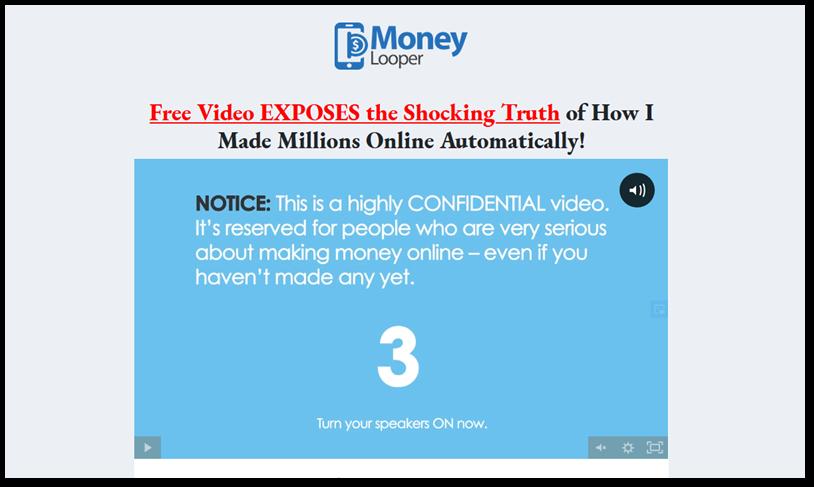 Money Looper screenshot of vsl