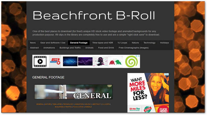 Beachfront b-roll free stock footage site