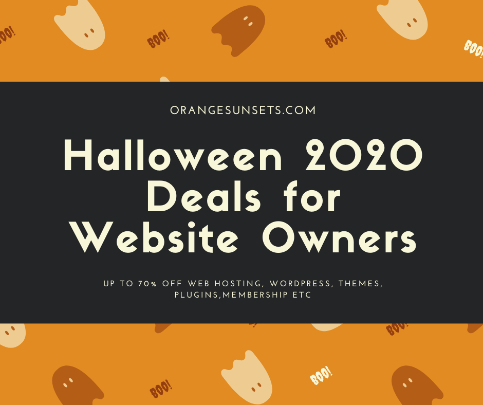 Halloween Deals graphic