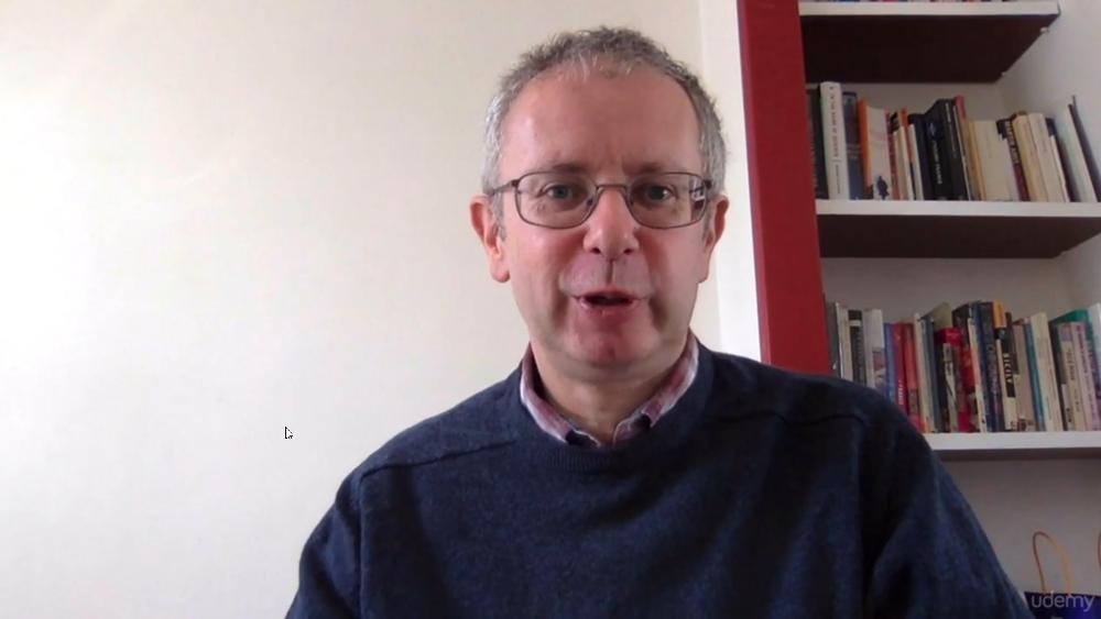 Voice Over Pro instructor Paul Jenkins on Udemy