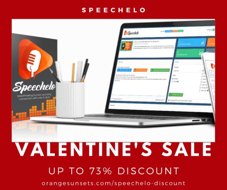 Speechelo Valentines Discount banner
