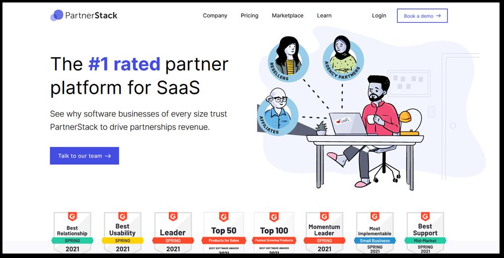 Partnerstack affiliate network