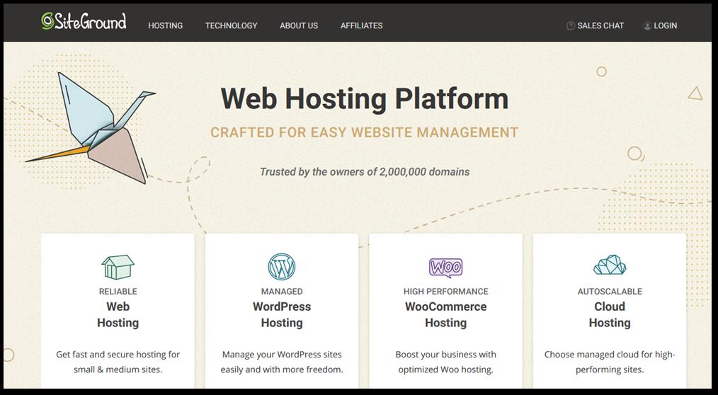 Siteground hosting feature image
